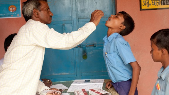 Infections usually occur during childhood and may take 8 to 10 years to cause symptoms. The majority of infections remain asymptomatic but can cause hidden damage to the lymphatic system. India has the longest running control programme in the world and hoped to reach elimination in 2015.