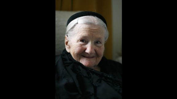 Irena Sendler (1910-2008) was a young social worker in 1939 when the Nazis invaded Warsaw, Poland. She worked, along with other women, to smuggle Jewish babies and children out of the Warsaw Ghetto to safety. The group saved more than 2,000 children. The site of the Warsaw Ghetto border marker appears on the app in honor of Sendler.