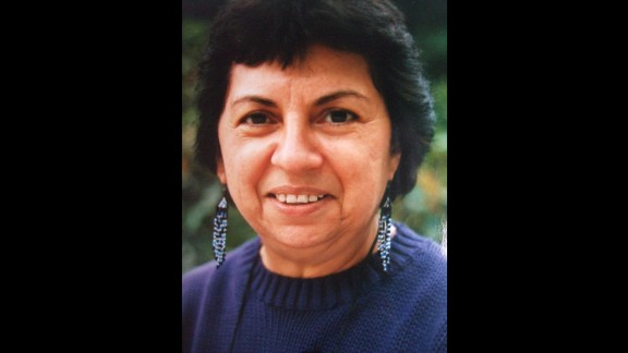 "Feminist activist and theorist Gloria Anzaldua (1942-2004) was known for writings and teachings related to the Chicana movement and lesbian/queer theory. Among her writings, written in a mix of English and Spanish, is the autobiographical narrative ""Borderlands: The New Mestiza."" She was a lecturer in women's studies at the University of California, Santa Cruz, where a collection of altar objects she used in her creative process is on display at the McHenry Library. The library appears in the app."