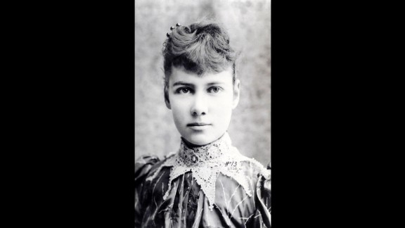 Nellie Bly (1864-1922) was a journalist for the New York World when she went undercover for 10 days at the mental asylum on Blackwell's Island and returned with a stunning expose of physical abuse, force-feeding and rotten food. The island appears on the app.