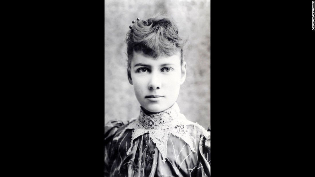 "<a href=""http://www.pbs.org/wgbh/amex/world/peopleevents/pande01.html"" target=""_blank"">Nellie Bly</a> (1864-1922) was a journalist for the New York World when she went undercover for 10 days at the mental asylum on Blackwell's Island and returned with a stunning expose of physical abuse, force-feeding and rotten food. The island appears on the app."