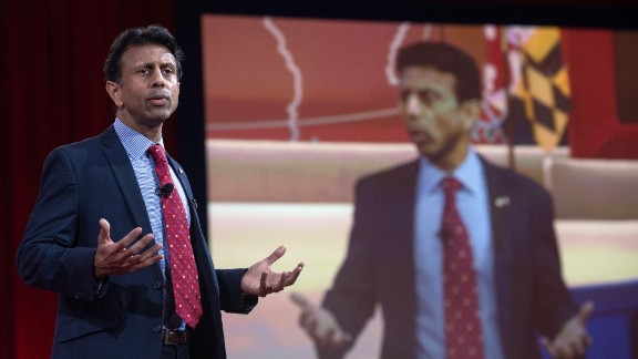 Bobby Jindal took the stage on Thursday.