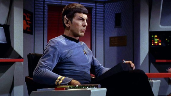 "Leonard Nimoy, whose portrayal of ""Star Trek"