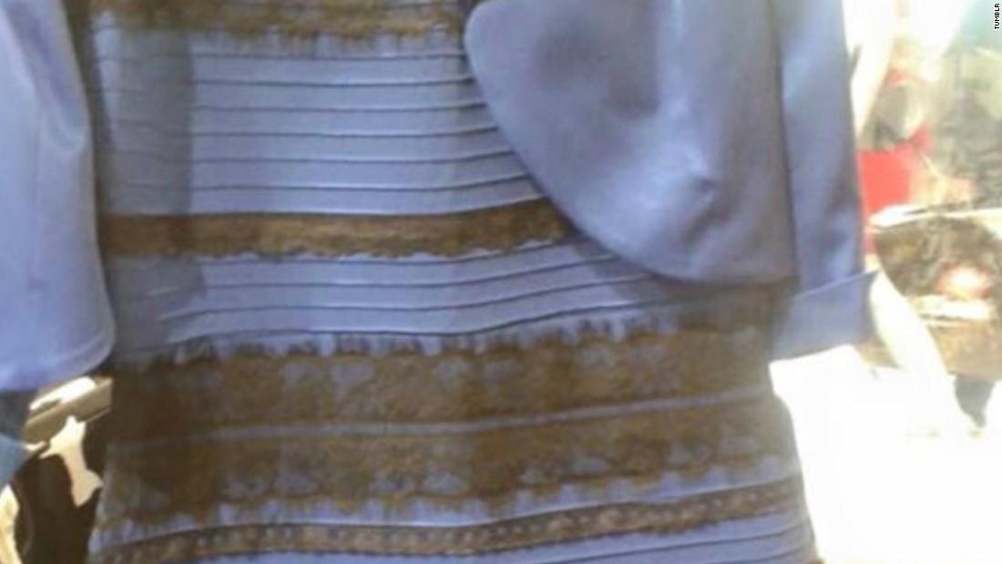 Dress color debate pic