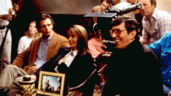 """Among the other films Nimoy directed was 1988's """"The Good Mother,"""" starring Diane Keaton and Liam Neeson, far left."""
