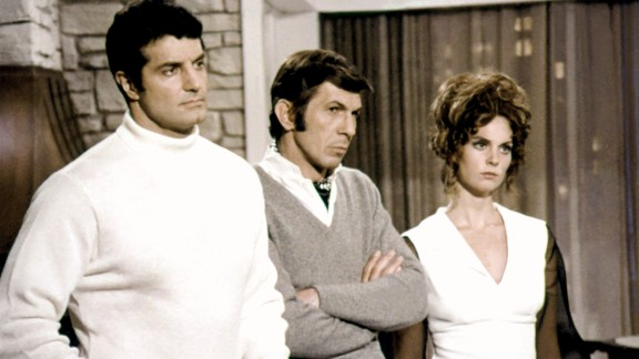 """After """"Star Trek,"""" Nimoy took on the role of Paris in the TV series """"Mission: Impossible."""" His co-stars included Peter Lupus and Lesley Ann Warren."""