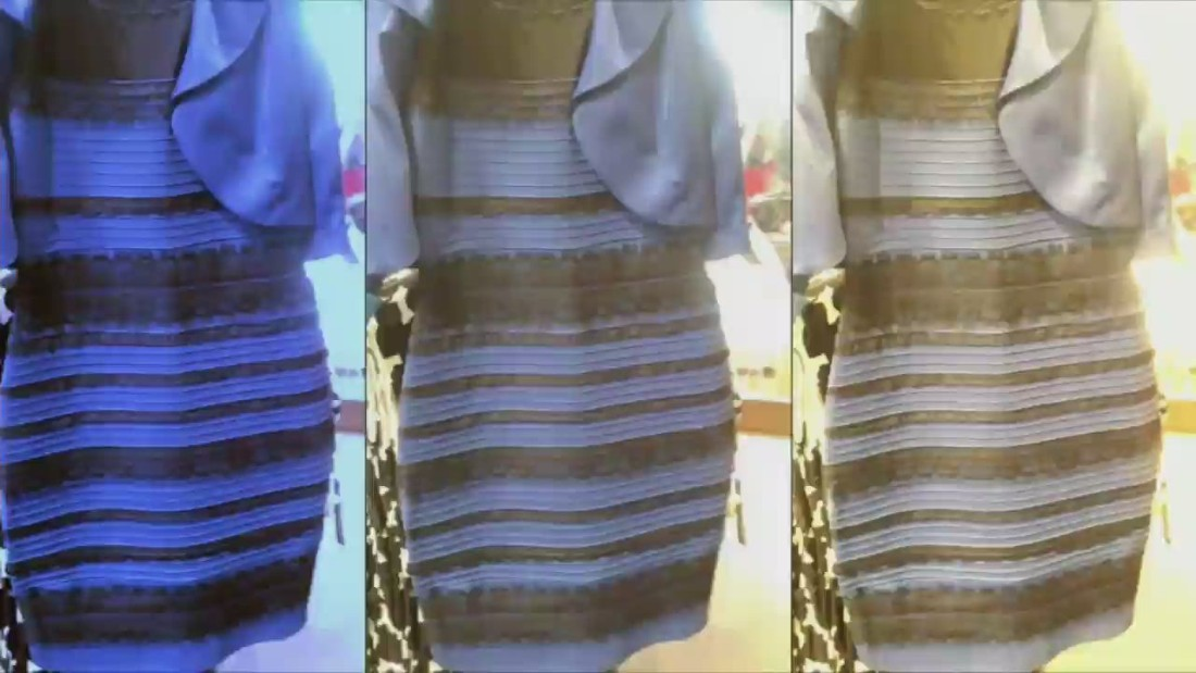 48edba72f2 Why blue black white gold dress went viral (Opinion) - CNN