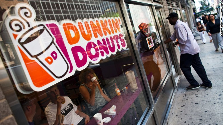 Dunkin' Donuts has gotten a head start on its plan to remove artificial dyes from its products.