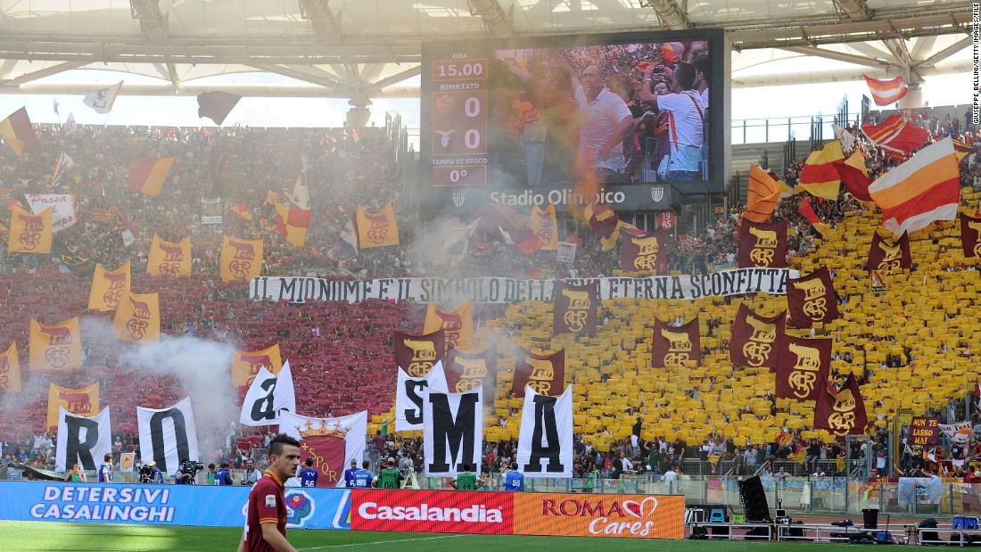 "The Curva Sud houses Roma's most colorful and passionate fans. ""I've been to many, many sporting events across the world,"" says Sean Foley, vice president of sport and media at the Raptor Group -- which is headed up by Roma's American owner James Pallotta. ""There's nothing I've experienced that's like Roma."""