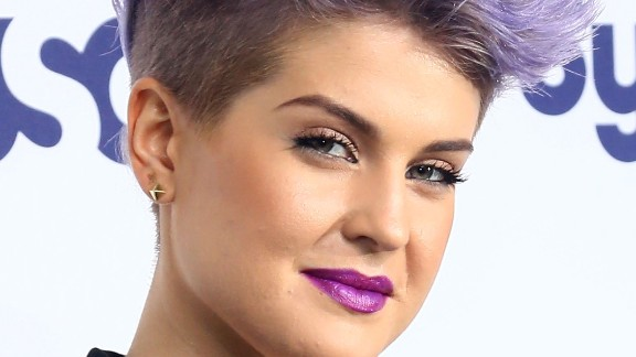 Kelly Osbourne attends the 2014 NBCUniversal Cable Entertainment Upfronts at The Jacob K. Javits Convention Center in New York City.