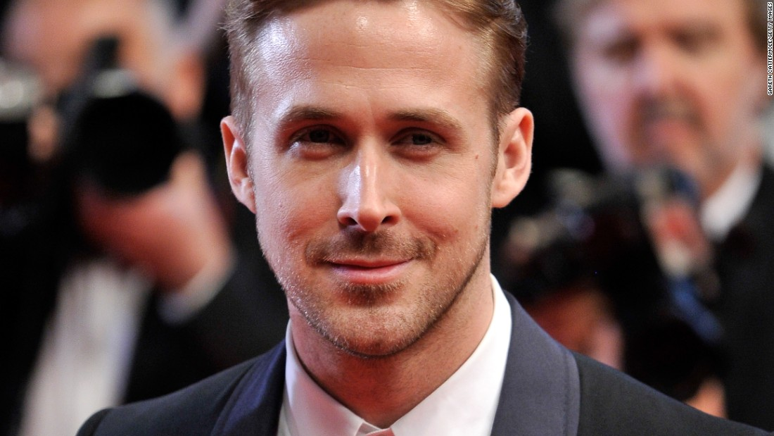 Ryan Gosling, seen here at the 2014 Cannes Film Festival, got his TV break in a Canadian show about a school on a cruise liner named Breaker High.