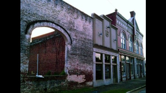 """Grantville was featured on 3 three of the show. The episode, """"Clear,"""" is about Rick returning to his abandoned hometown to look for weapons."""
