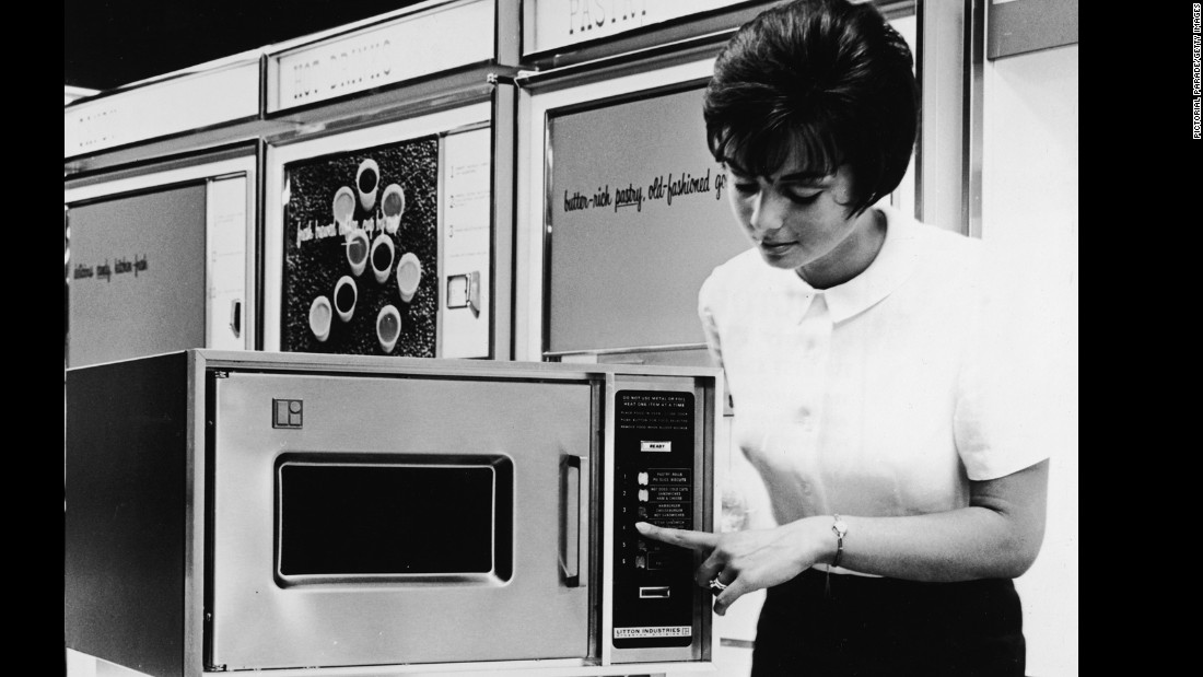 "It might not be the fanciest way to prepare dinner, but the invention of microwave ovens made mealtimes more convenient. <a href=""http://invent.org/inductee-detail/?IID=136"" target=""_blank"">Percy Spencer</a> created the contraption in 1945. A few decades later, they were being sold on a large scale, boosting the TV dinner industry. Today, there are <a href=""http://invent.org/inductee-detail/?IID=136"" target=""_blank"">more than 200 million </a>microwave ovens in use. Does microwaving your food make it lose nutrients? Not if you <a href=""http://www.cnn.com/2014/01/21/health/upwave-microwaving-food/"" target=""_blank"">cook it properly</a>."