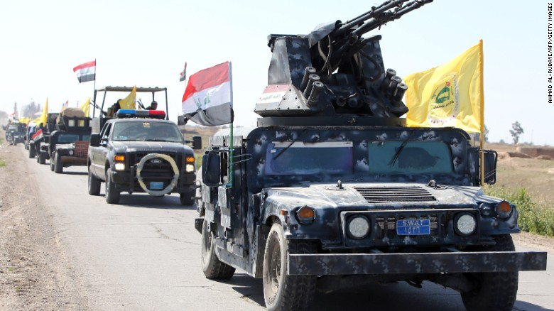 Iraq fights to drive ISIS out of Tikrit