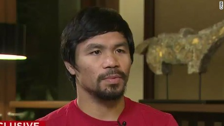 Pacquiao talks to CNN about Mayweather showdown