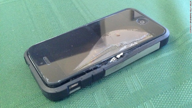 Man claims iPhone exploded in his pocket