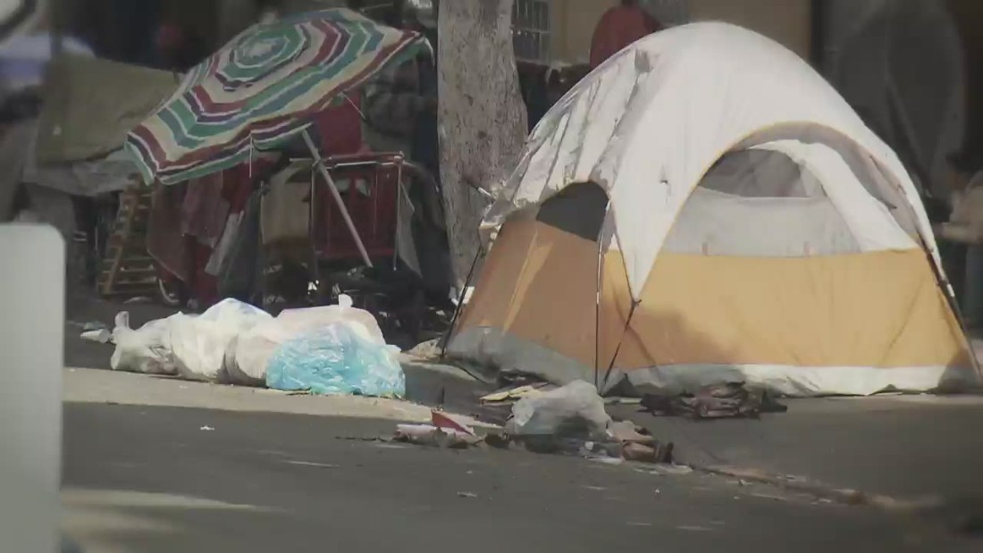 In LA's homelessness crisis, the Skid Row is everywhere