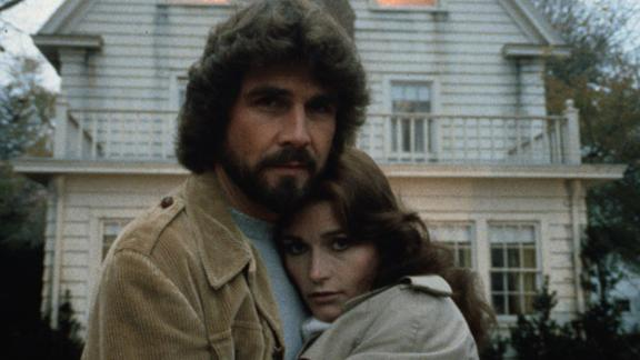 """""""Amityville Horror"""": James Brolin and Margot Kidder star as a couple who get more than they bargained for with a home they purchase in Amityville, New York. (Hulu)"""