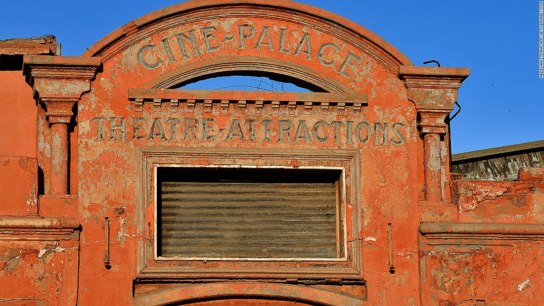 The country also has a long history of film. The Cine Palace cinema in Marrakech was built in 1926 to replicate Cinema Eden by the Lumiere Brothers in La Ciota France.