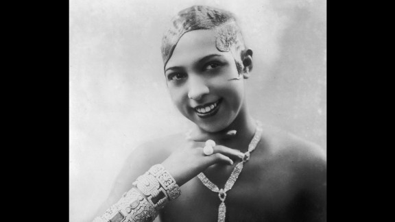 Entertainer Josephine Baker (1906-75) recorded one of her most famous performances in Paris' Folies-Bergère music hall wearing a skirt made of bananas. The concert hall is featured in the app.