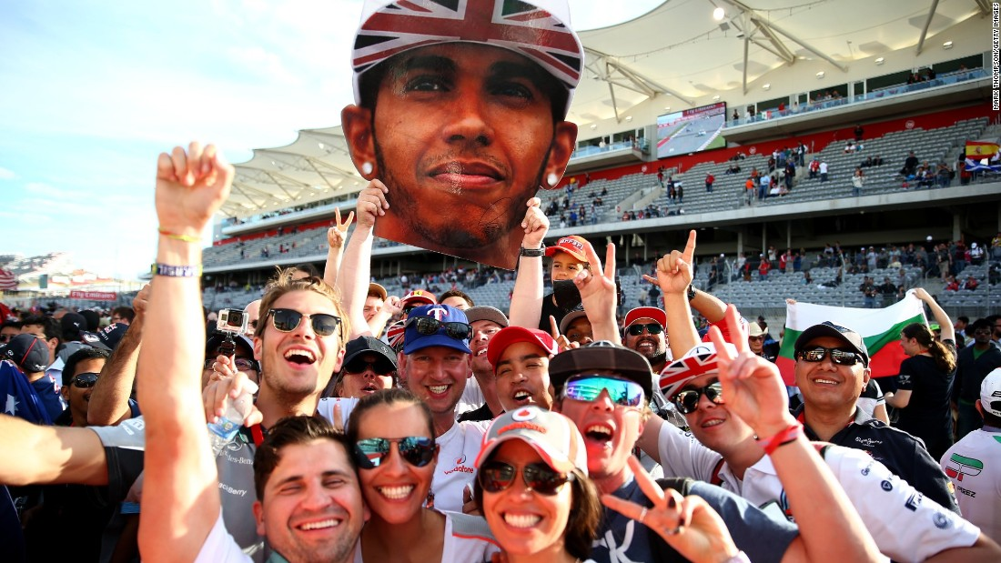 When it comes to global popularity, double world champion Lewis Hamilton is head and shoulders above the rest of the Formula One field.