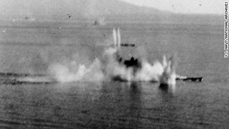 Sinking of the Musashi