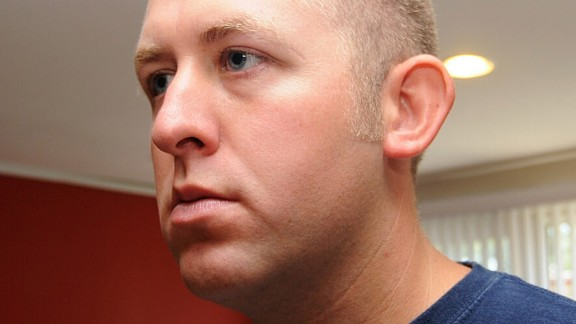 Ferguson police officer Darren Wilson is seen in this undated handout photo provided by the St. Louis County Prosecutor's Office.