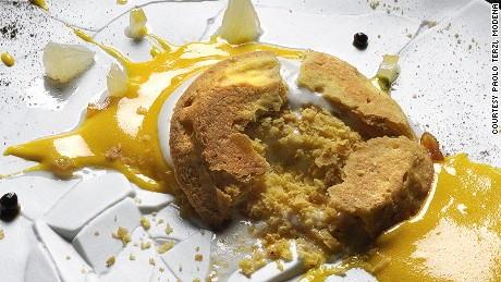 Ostera Francescana, Oops! I dropped lemon tart!