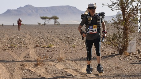 The queen of extreme marathons