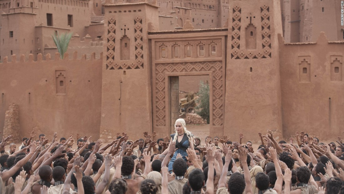 "Parts of HBO television series ""Game of Thrones"" were filmed in Ouarzazate, a city in south central Morocco known as ""the door to the desert""."