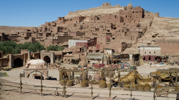 """This set in Ouarzazate was used in the filming of """"Prince of Persia: The Sands of Time"""" which starred Jake Gyllenhaal."""