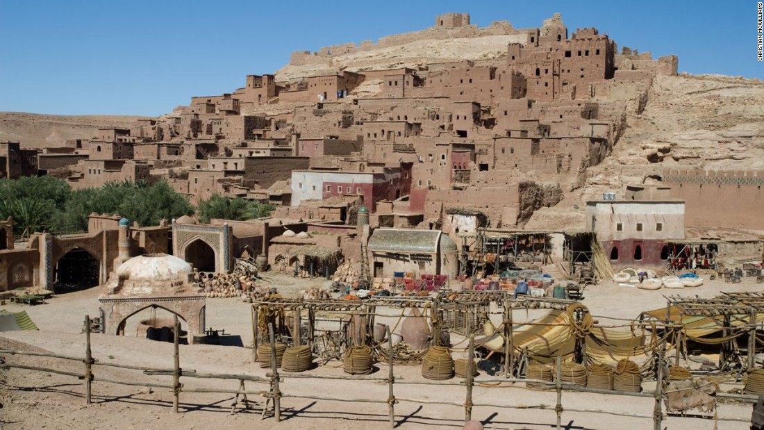"This set in Ouarzazate was used in the filming of ""Prince of Persia: The Sands of Time"" which starred Jake Gyllenhaal."