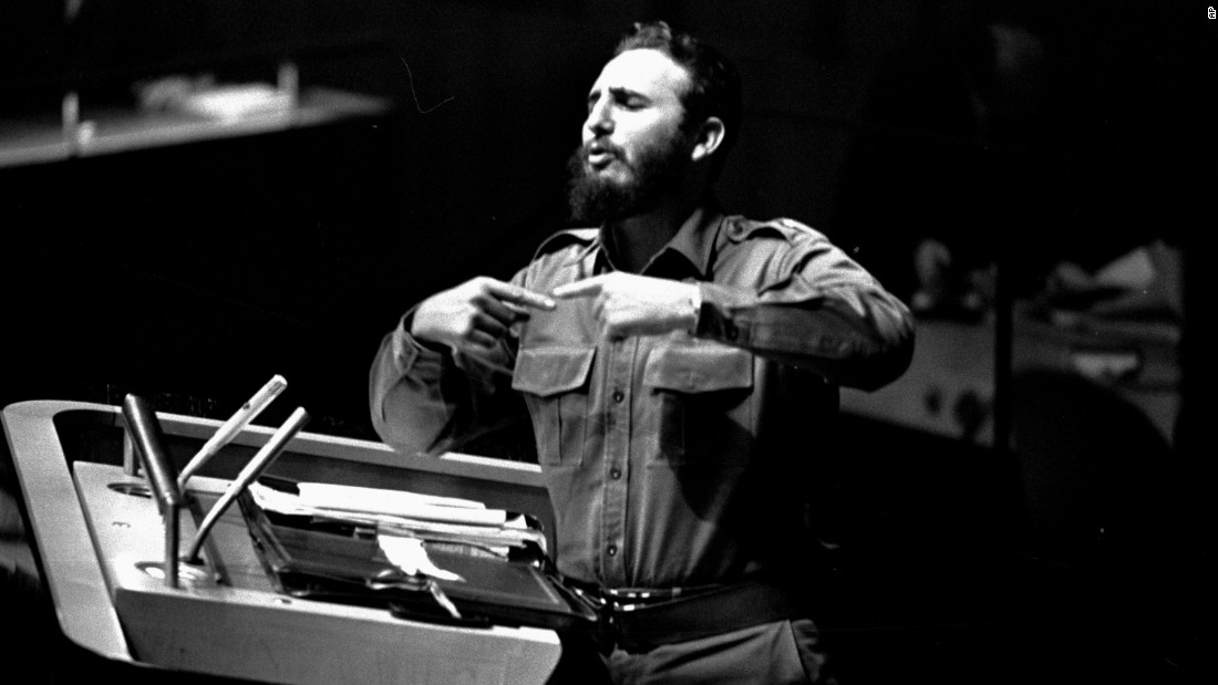 Image result for fidel castro at the UNGA 1979