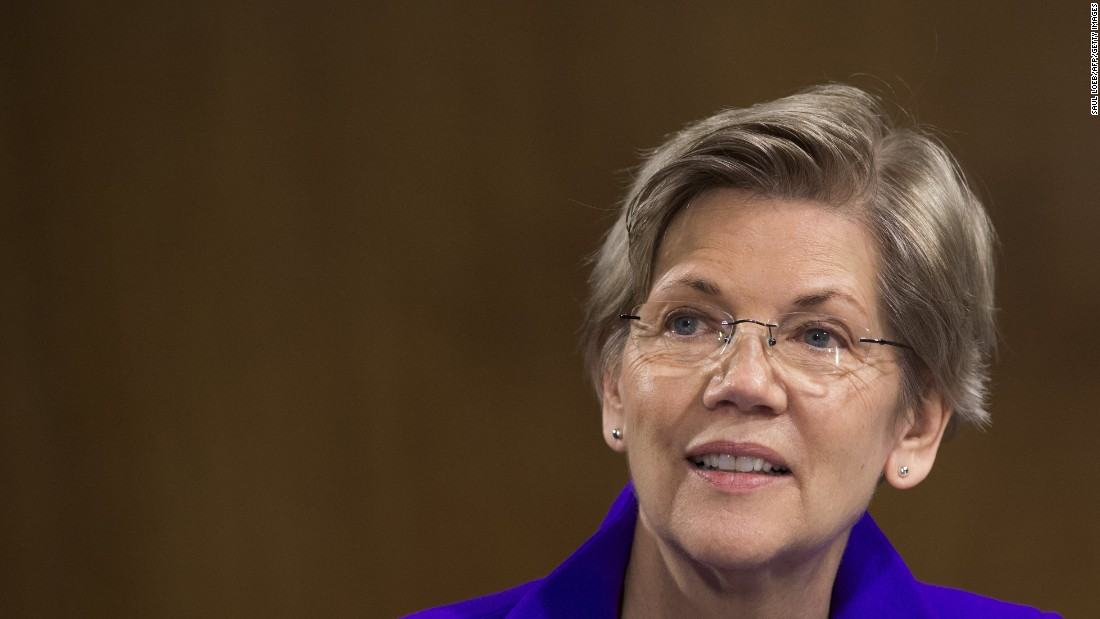 "Elizabeth Warren: ""I'm not running for president....I don't get who writes these headlines or what they're about. I think there's just kind of a pundit world out there."""