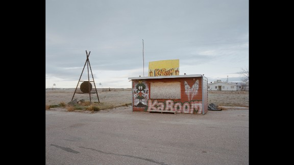 A small shed advertises the sale of fireworks in Fort Belknap Agency.