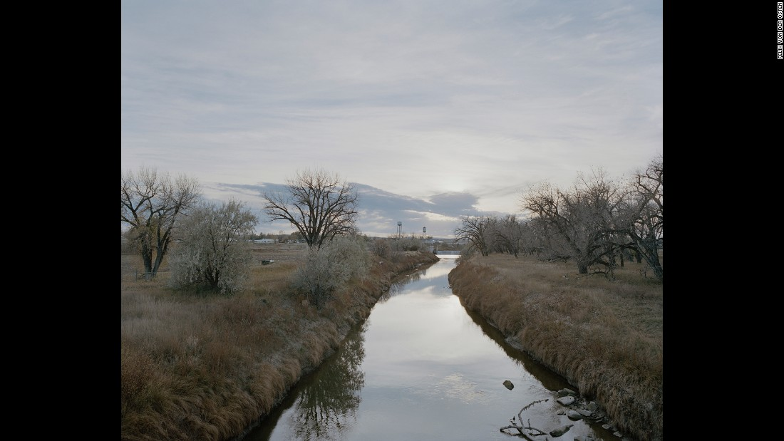 The Milk River is the natural border on the north side of the reservation.