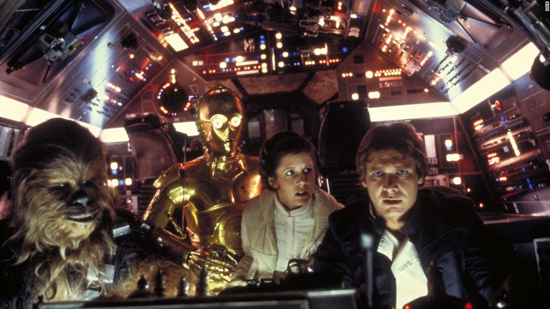 "Much of the original ""Star Wars"" played like a throwback to old pulp flicks, with Han Solo and Princess Leia providing the witty repartee. Chewbacca the Wookiee and android C-3PO were along for the ride."