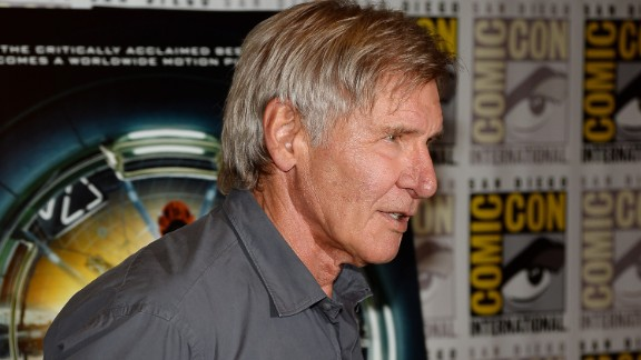 Ford attends the annual Comic-Con event in San Diego in 2013.