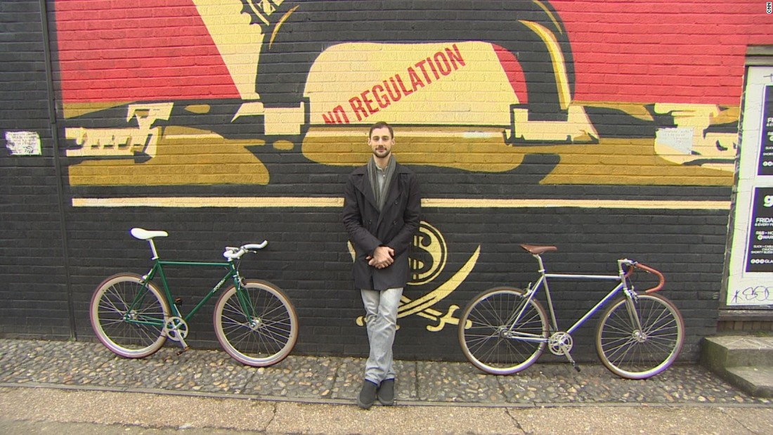 "<a href=""http://edition.cnn.com/2015/03/08/world/dani-foffa-bikes/index.html"">Dani Foffa</a> was working as a business analyst when he decided to shift gears and start a bespoke bike company."