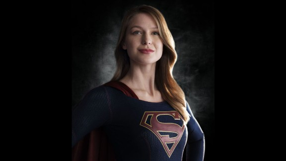"'Supergirl"" is flying to CBS' Monday night lineup starting in November. Melissa Benoist portrays the comic book superhero."