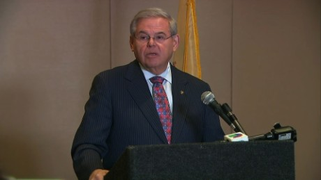 Sen. Menendez responds to looming criminal charges