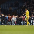 villa fans pitch invasion