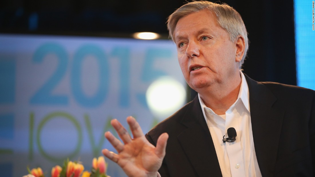 South Carolina Sen. Lindsey Graham has said he'll make a decision about a presidential run sometime soon. A potential bid could focus on Graham's foreign policy stance.