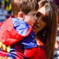 messi wife child