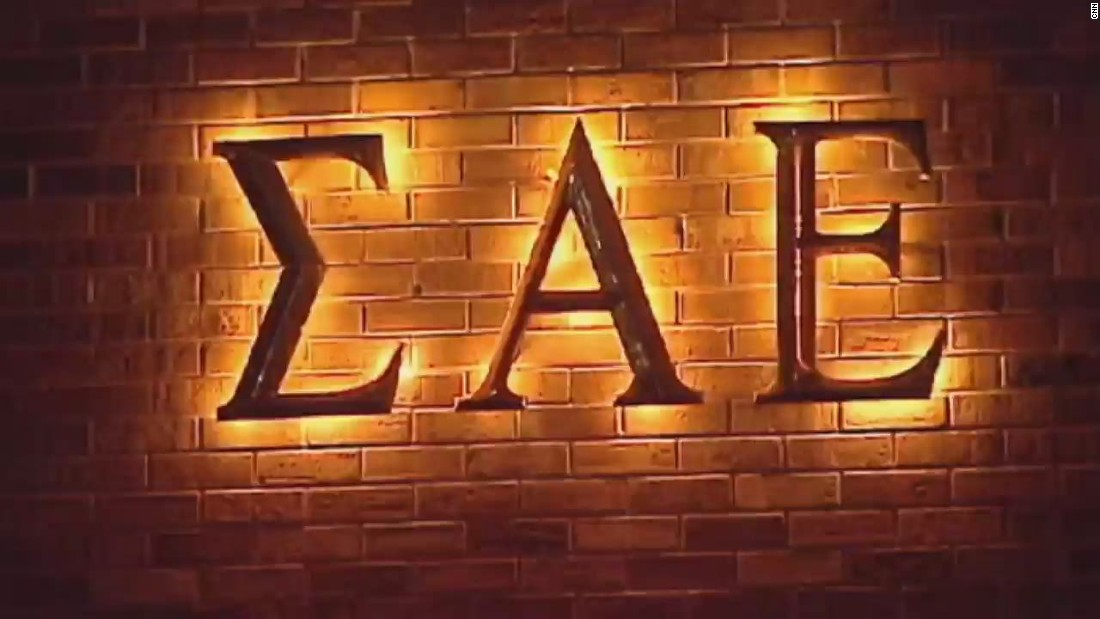"The University of Oklahoma severed ties with the Sigma Alpha Epsilon fraternity in March. A video anonymously sent to the school's newspaper on March 7 showed the fraternity chanting, ""There will never be a ni**** SAE. You can hang him from a tree, but he can never sign with me."" Two members who were leading the chant were expelled. ""The song is horrific and does not at all reflect our values as an organization,"" said Blaine Ayers, executive director of SAE."