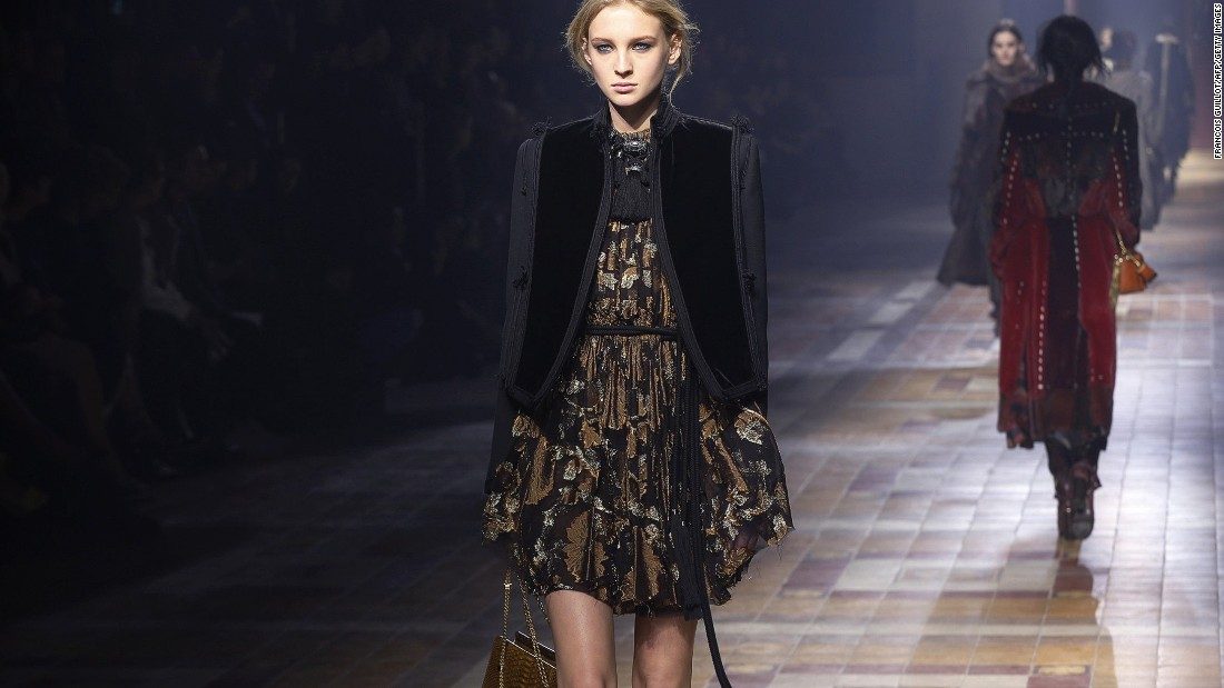 95fb7e5fa63 It was another big anniversary at Lanvin, which turns 125 this year.  Designer Albert