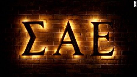 Caption: 	Embargo: Oklahoma City Sigma Alpha Epsilon's national chapter shut down the chapter Sunday night, suspended all of the chapter's members and threatened to remove those responsible from the fraternity for life. Credit: 	KFOR