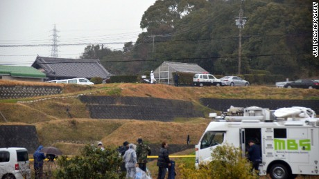 The victims all lived within 100 meters of the suspect's home, police said.
