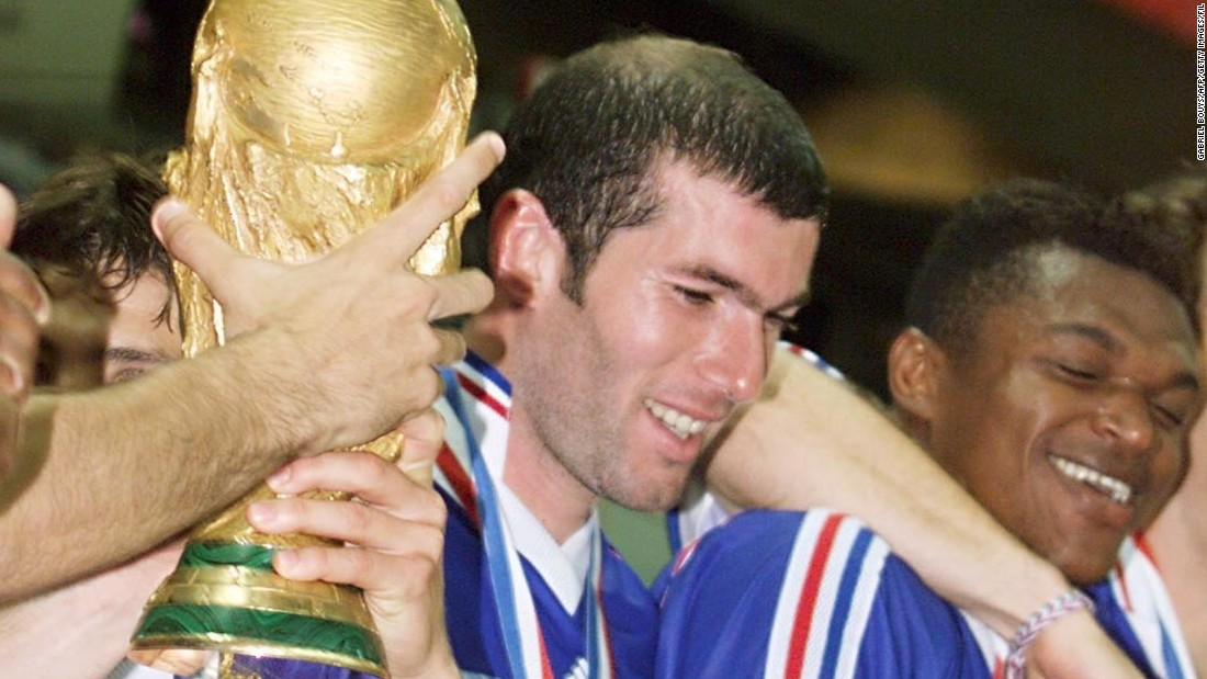France's World Cup winner Zinedine Zidane is of Algerian descent -- his parents emigrated to Paris from Algeria.