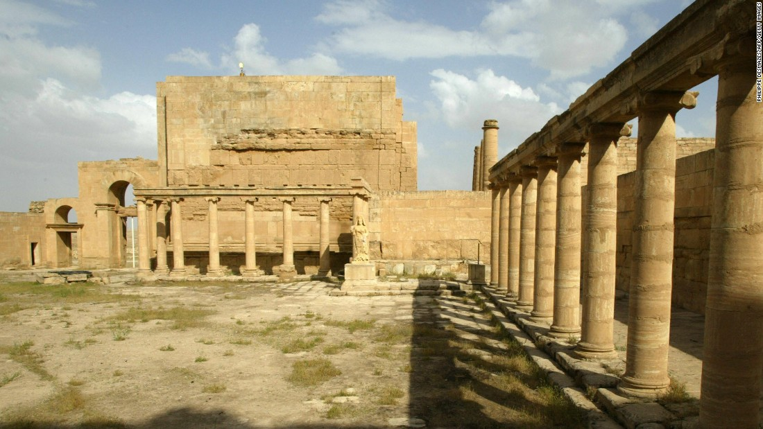 This file photo from 2003 shows the ancient ruins of Hatra in Iraq. It is another one of the cultural sites that have reportedly been damaged by ISIS.
